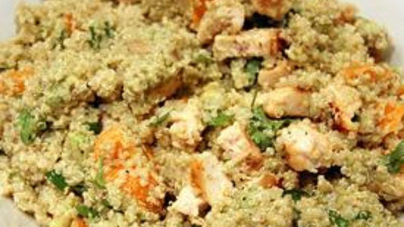 Citrus Quinoa and Chicken Salad
