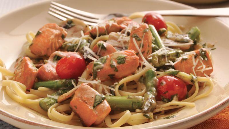 Salmon-Pasta Toss