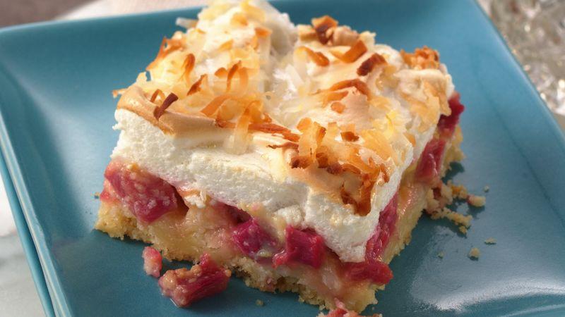 Rhubarb Meringue Dessert Recipe From Betty Crocker