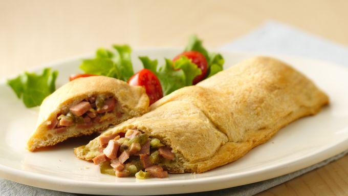 Bologna Crescent Sandwiches