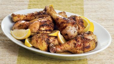 Lemon-Thyme Chicken Legs