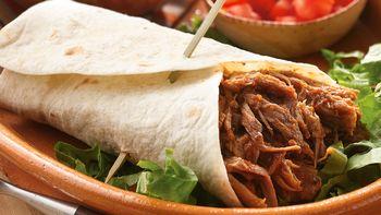 Slow-Cooker Southwestern Pork Burritos