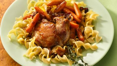 Honey-Glazed Chicken and Carrots