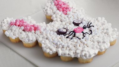 Cupcake Bunny Cake