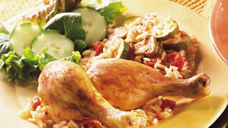 Turkey With Italian Roasted Vegetables