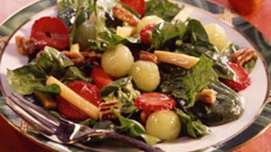 Holiday Spinach Salad
