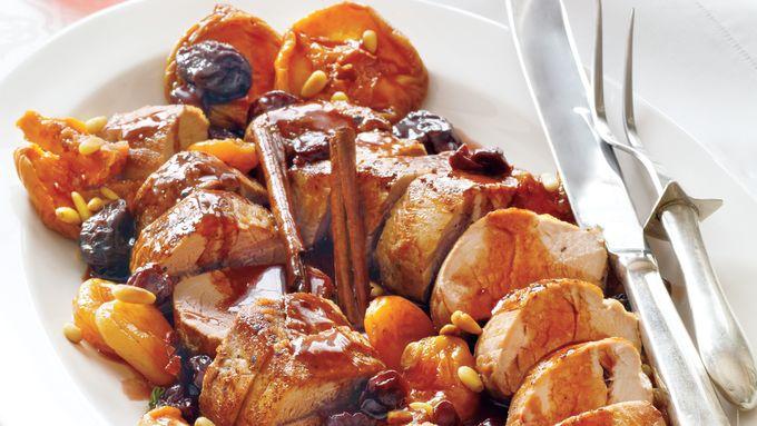 Roasted Pork with Port Sauce