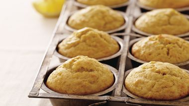 Spiced Lemon Muffins