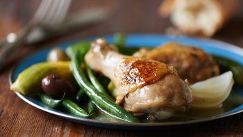 Chicken-Squash Fricassee