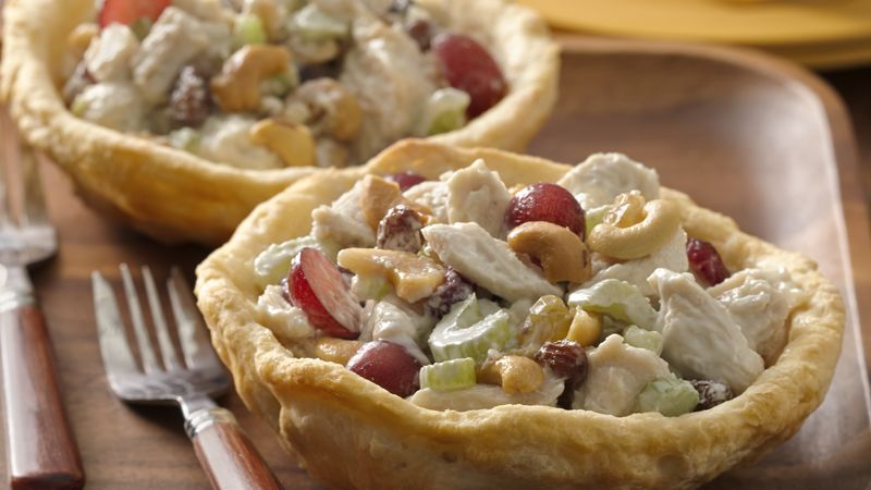 Chicken Salad Bowls for Two