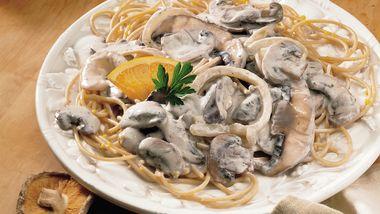 Creamy Mushroom Stroganoff