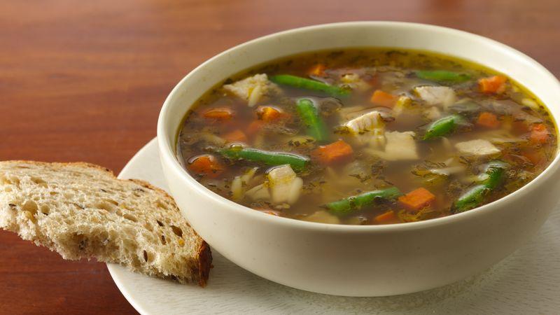 Next Day Turkey Soup