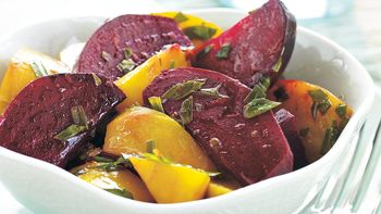 Beets with Herb Vinaigrette