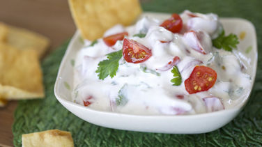 Tomato and Greek Yogurt Dip