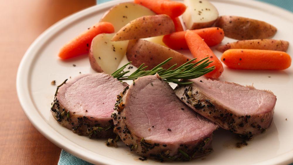 Pork Tenderloin with Rosemary
