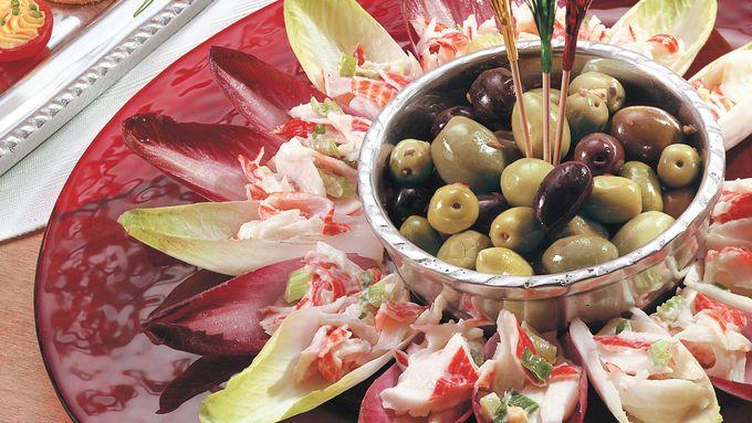 Deli Salad Wreath