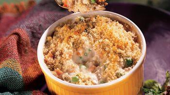 Creamy Potato and Sausage Casserole