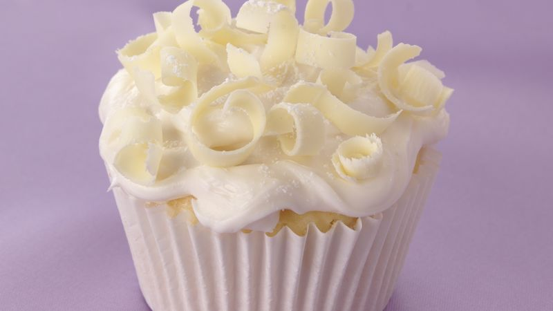 White-on-White Wedding Cupcakes