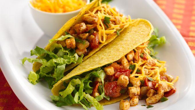 Summer-Fresh Chicken Tacos