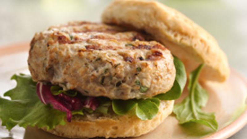 Tarragon Chicken Burgers