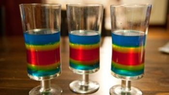 Double Rainbow Shots