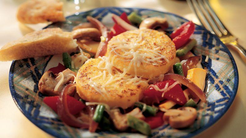 Polenta with Garden Vegetables
