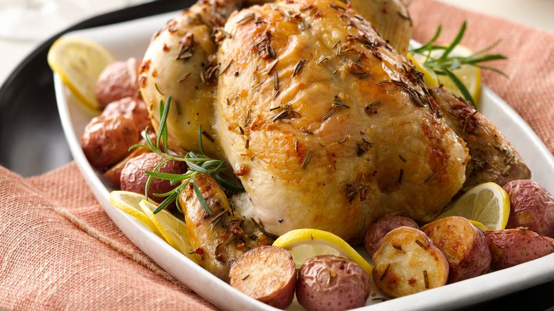 Roasted Rosemary Chicken with Baby Potatoes