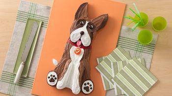 Boxer Dog Cake