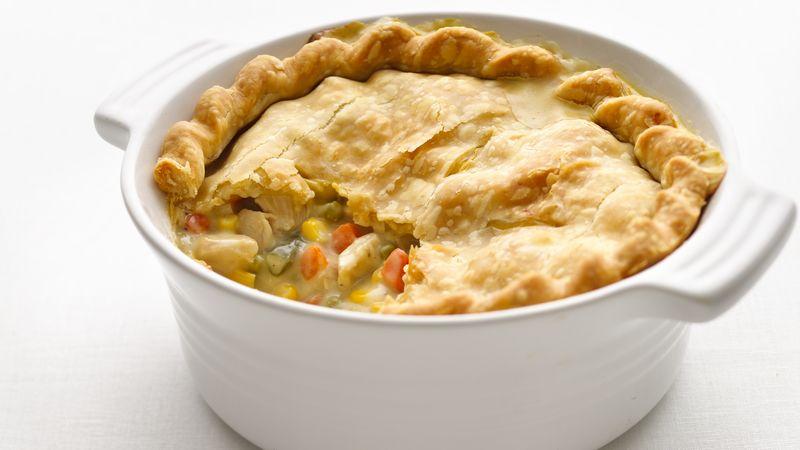Skinny Chicken Pot Pie