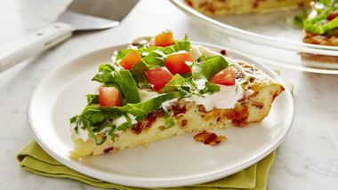 Impossibly Easy BLT Pie