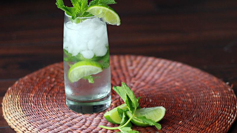 Mojito-Flavored Water