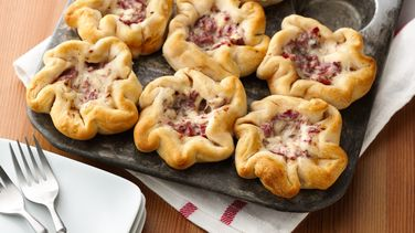 Corned Beef and Swiss Mini Pot Pies