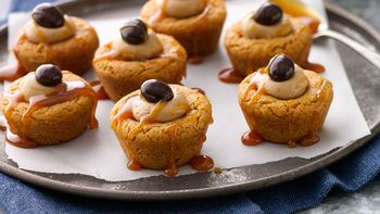 Pumpkin Spice Latte Cookie Cups