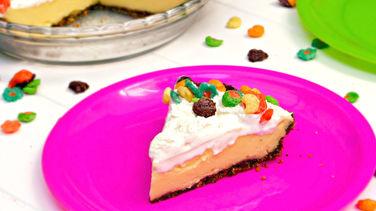 Vanilla Cream Trix™ Pie