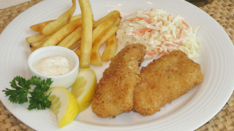 Crispy fried fish recipe from betty crocker for How to make breaded fish