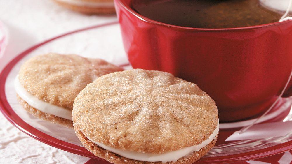 Cardamom Print Sandwich Cookies
