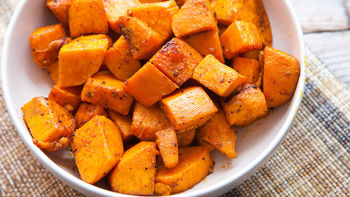 Chili Roasted Sweet Potatoes