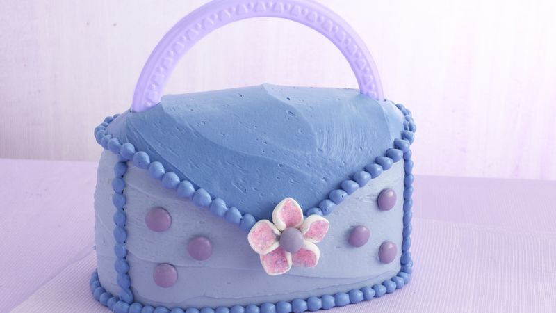 Party-Time Purse Cake