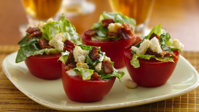 BLT Tomato Cups