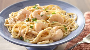 Pasta with Creamy Shrimp Sauce