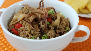 Rice with Squid