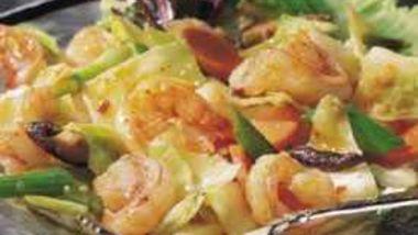 Shrimp with Spicy Garlic Sauce