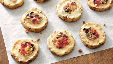 Fruitcake-Filled Icebox Cookies
