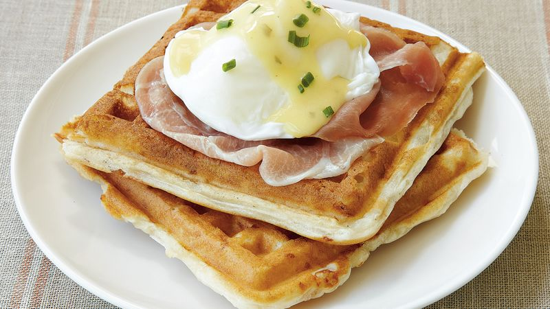 Waffles Benedict