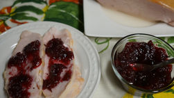 Chipotle and Cranberry Sauce