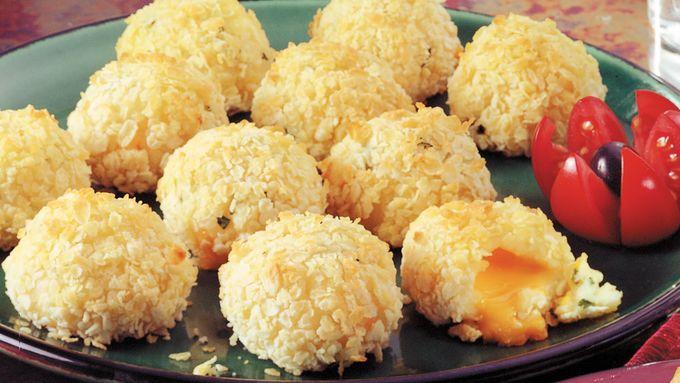 Cheese-Filled Potato Bites