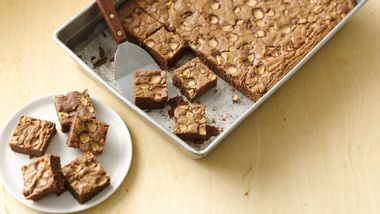 Milk Chocolate-Malt Brownies
