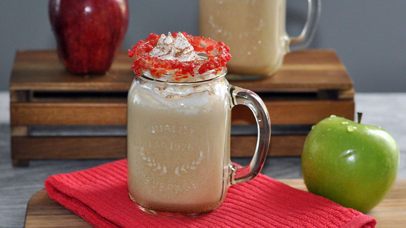 Hot Caramel Apple Spiked Cider