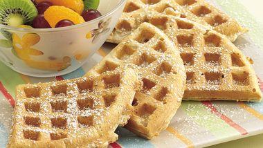 Whole-Grain Waffles