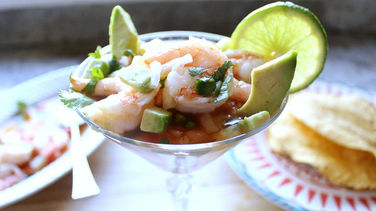 Mexican Ceviche with Avocado